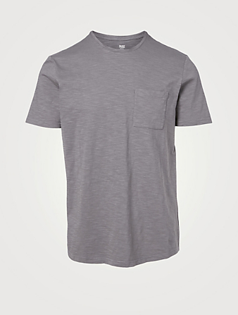 PAIGE Kenneth Cotton T-Shirt Men's Grey