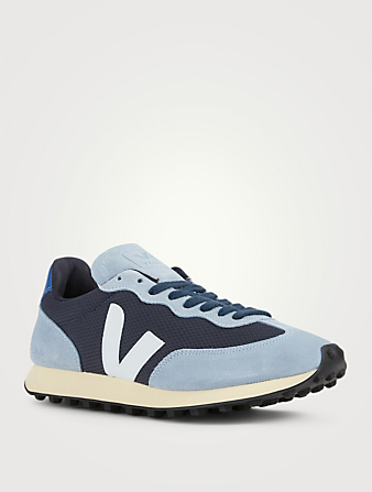 VEJA Rio Branco Mesh And Suede Sneakers Men's Blue