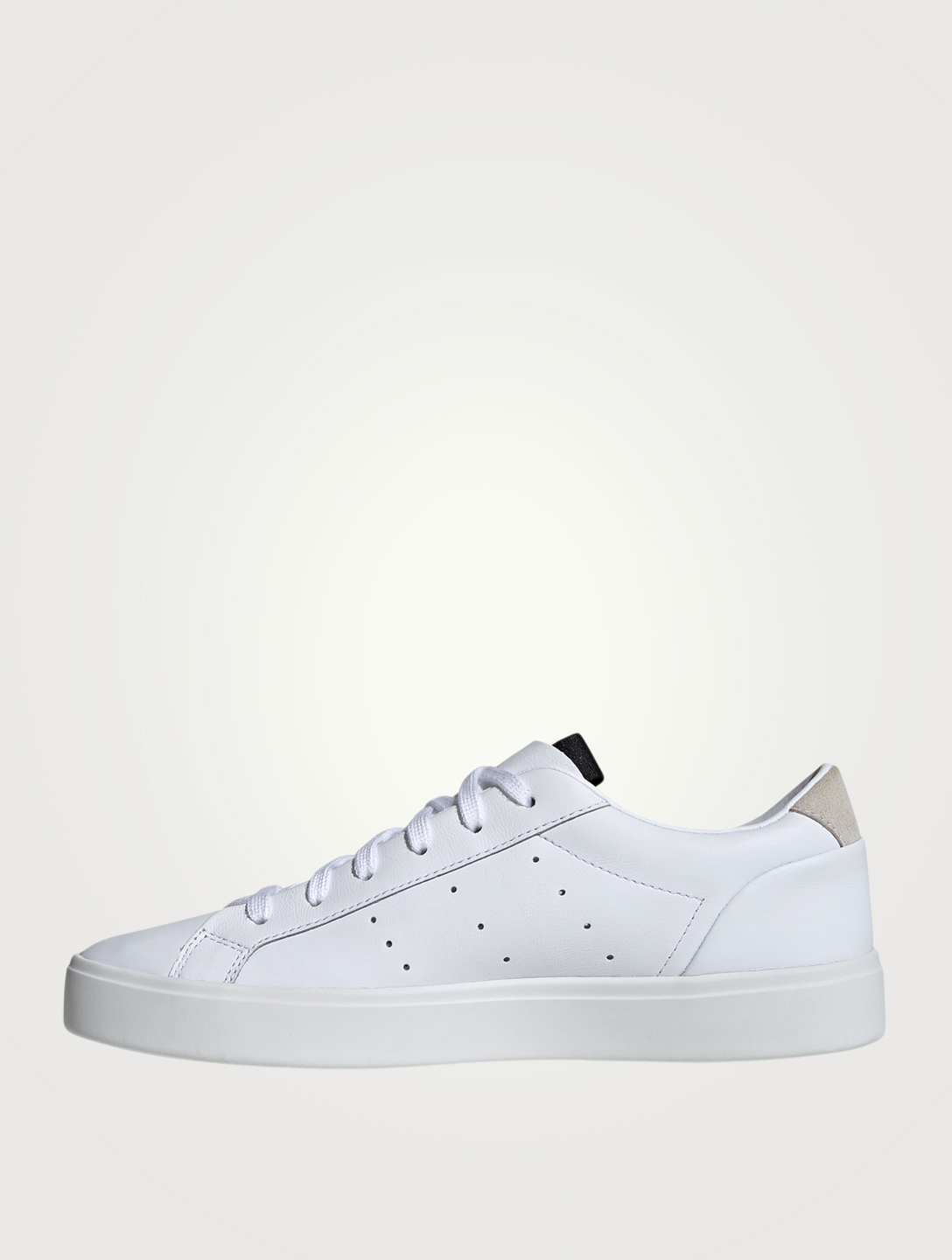 ADIDAS Sleek Leather Sneakers Women's White