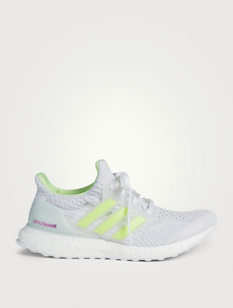 ADIDAS Ultraboost 5.0 DNA Glow Primeknit Running Shoes Women's Yellow