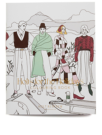 NON MERCH Holts for the Holidays Colouring Book Collections No Color