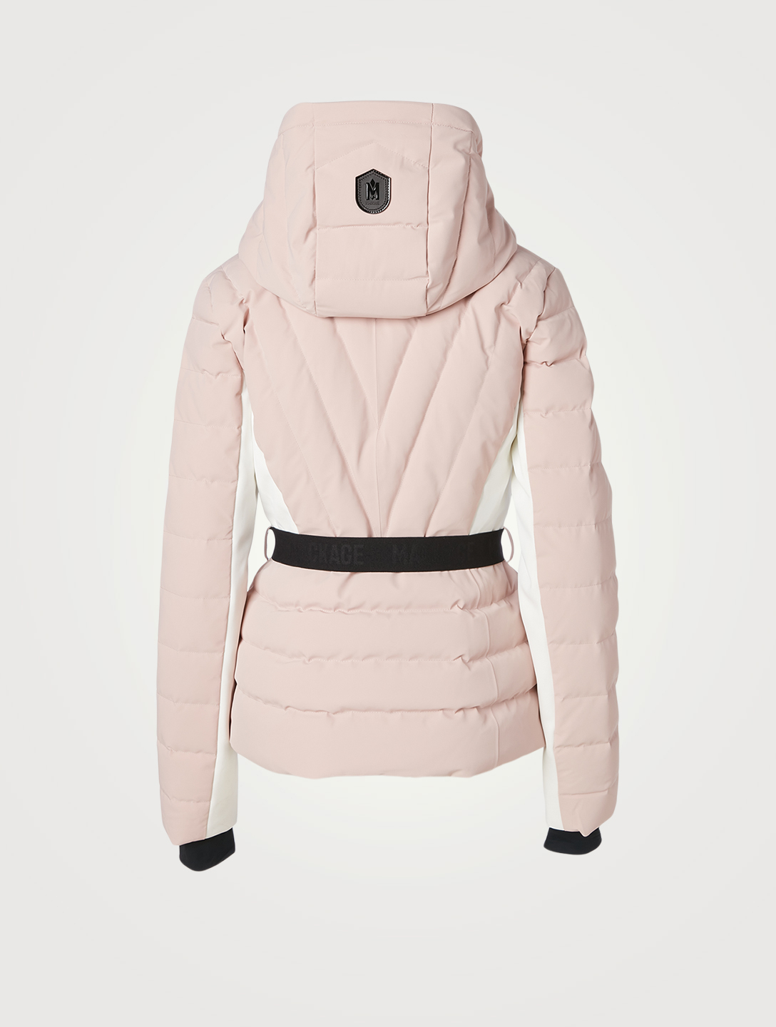 MACKAGE Elita Fitted Down Jacket With Fur Women's Pink