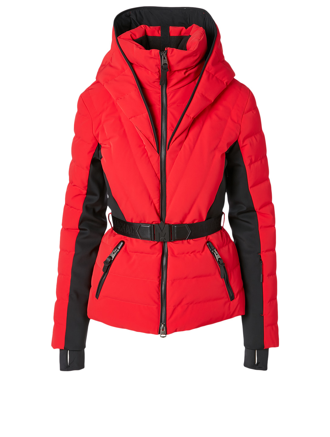 MACKAGE Elita Fitted Down Jacket Women's Red