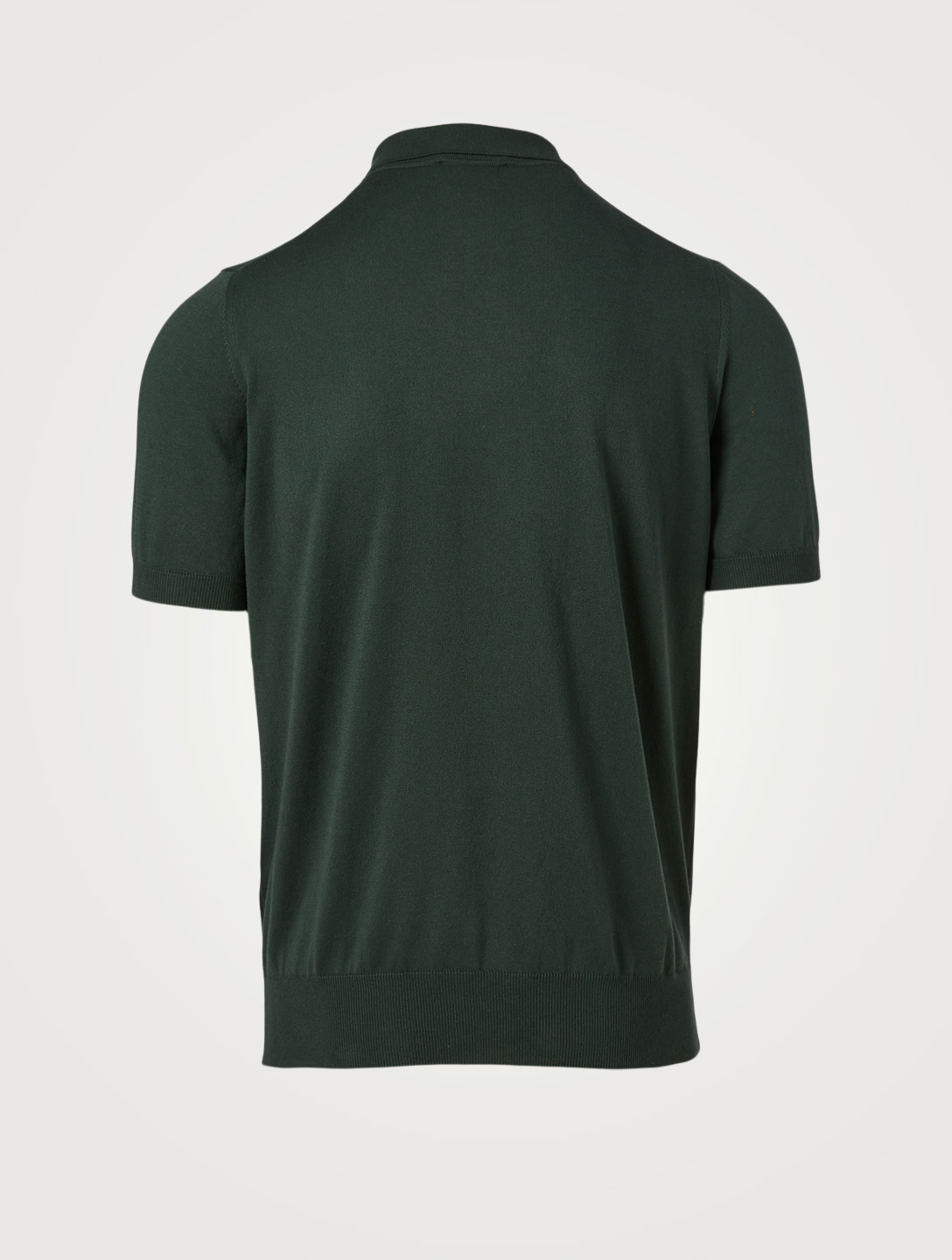 CANALI Cotton Polo Shirt Men's Green