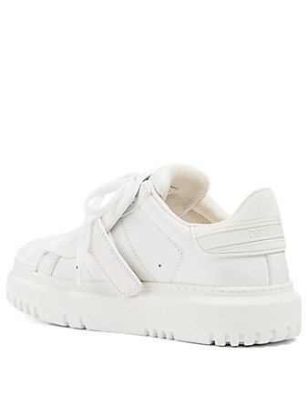 DIOR Dior-ID Leather And Rubber Sneakers Women's White