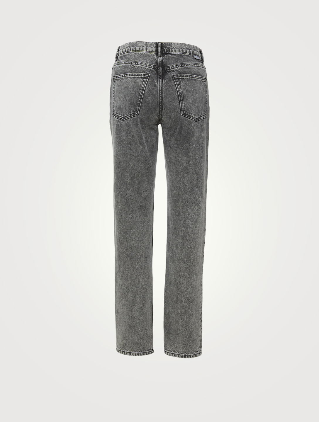 BOYISH Casey Rigid Straight-Leg Jeans Women's Grey