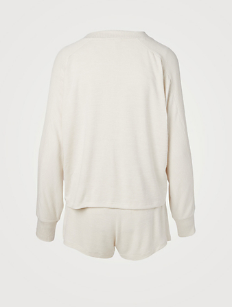 RAG & BONE Two-Piece Knit Lounge Set Women's Beige