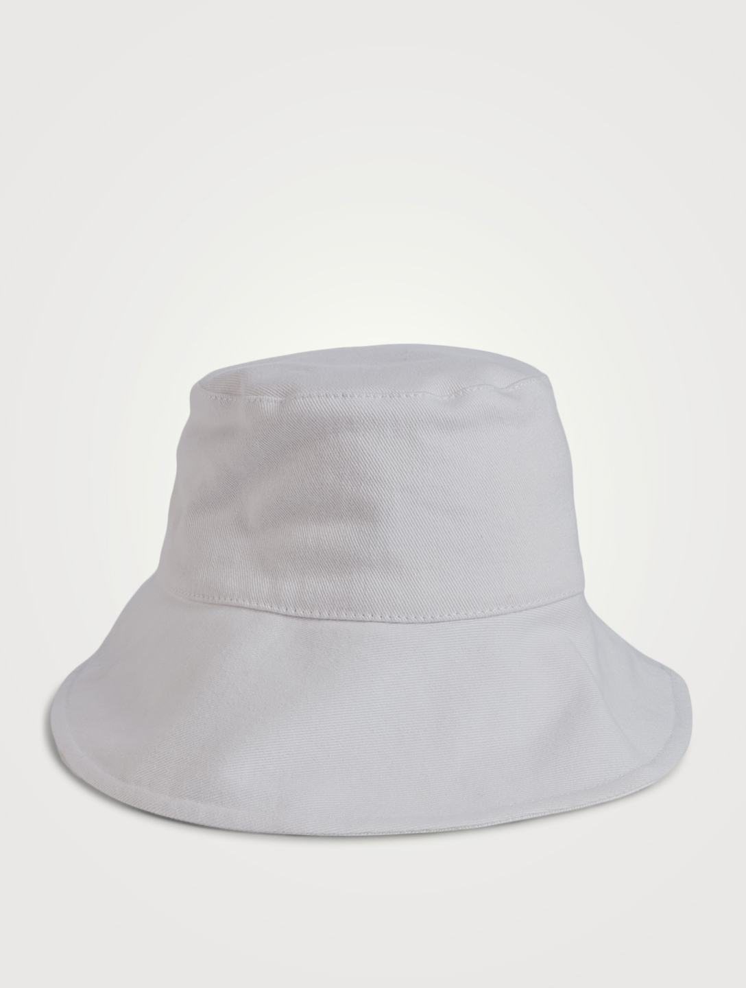 ISABEL MARANT Loiena Denim Bucket Hat Women's White