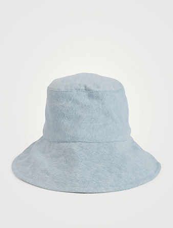 ISABEL MARANT Loiena Denim Bucket Hat Women's Blue