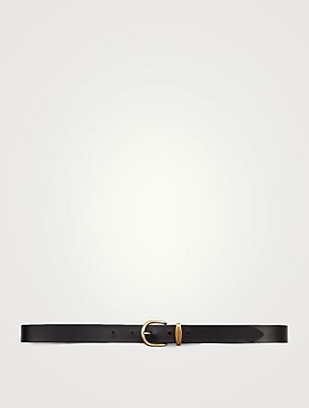 Fourrure v/éritable pour votre sangle de selle L x l marron naturel Noir 60 x 12 cm Merauno/® Housse de ceinture en peau dagneau v/éritable pour ceinture western