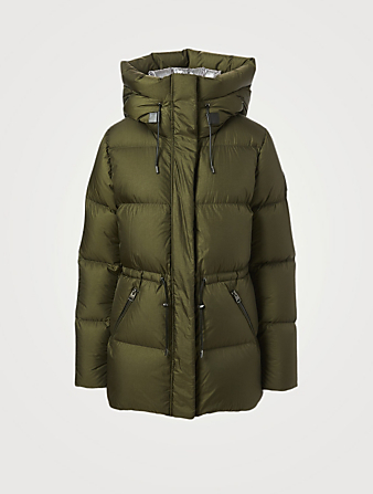 MACKAGE Freya Foil Shield Down Jacket Women's Green
