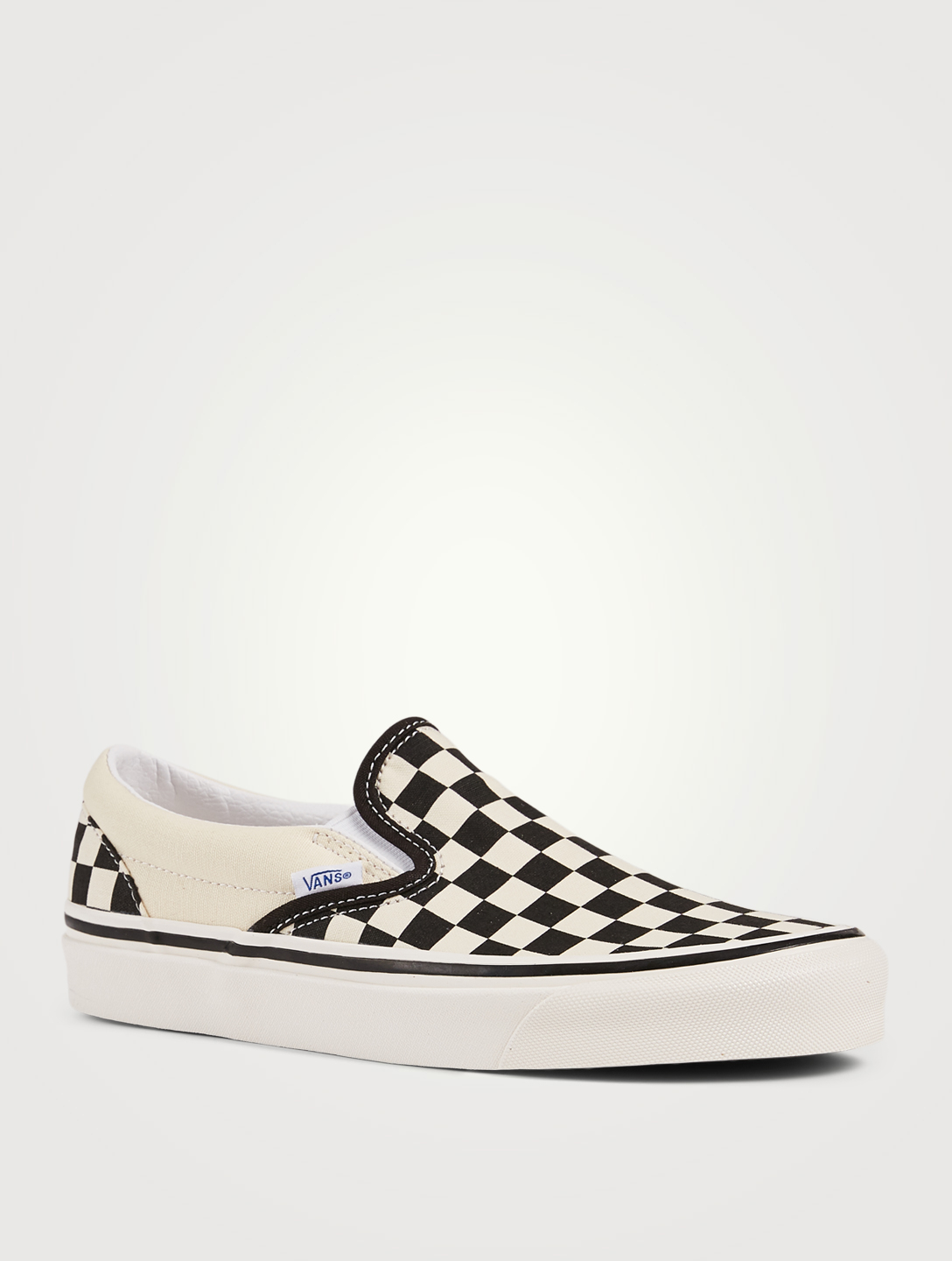 VANS Anaheim Factory Classic Slip-On 98 DX Canvas Sneakers In Checker Print Women's Multi