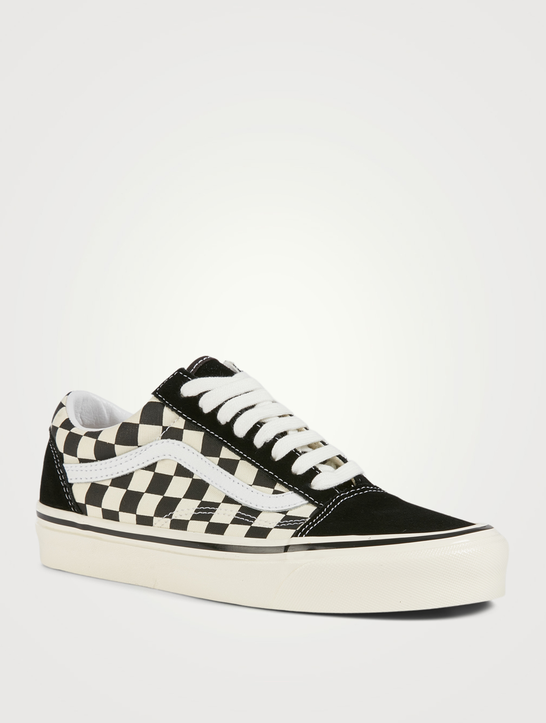 VANS Anaheim Factory Old Skool 36 DX Suede And Canvas Sneakers In Checker Print Women's Multi
