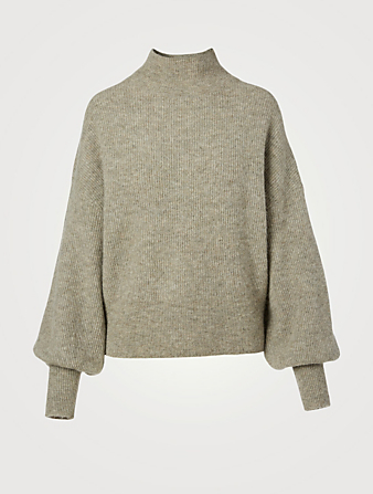 WON HUNDRED Blakely Alpaca And Wool Turtleneck Sweater Women's White