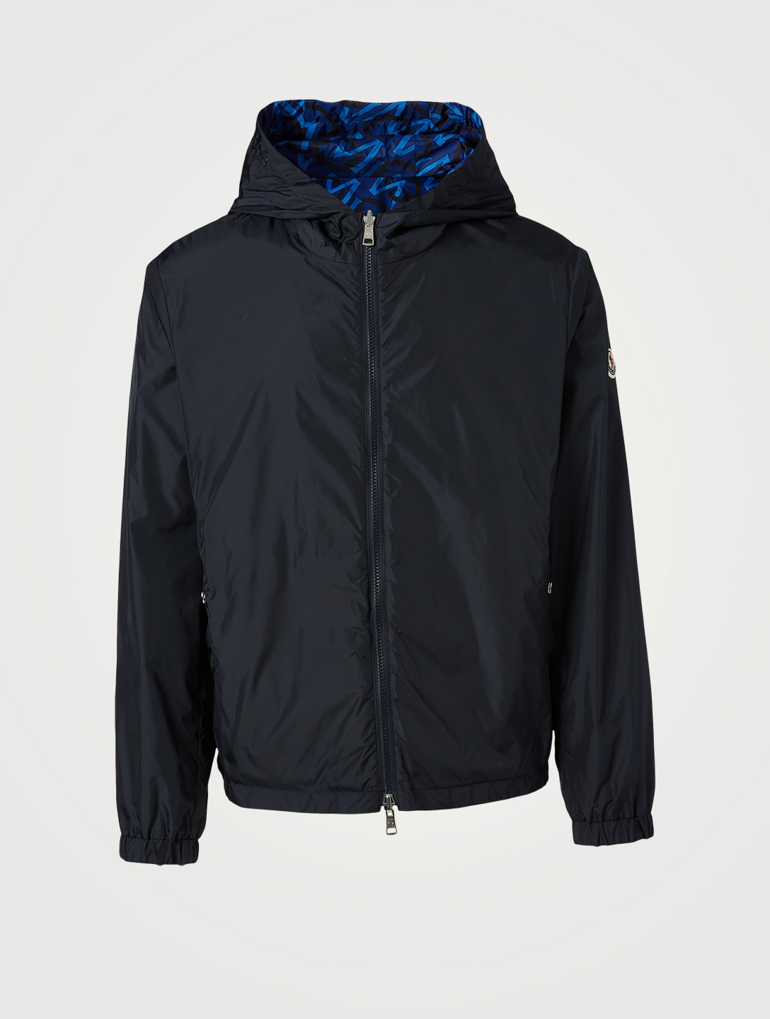 MONCLER Cretes Reversible Jacket With Hood Men's Blue