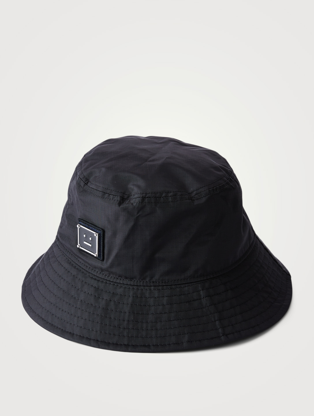 ACNE STUDIOS Face Patch Bucket Hat Women's Black