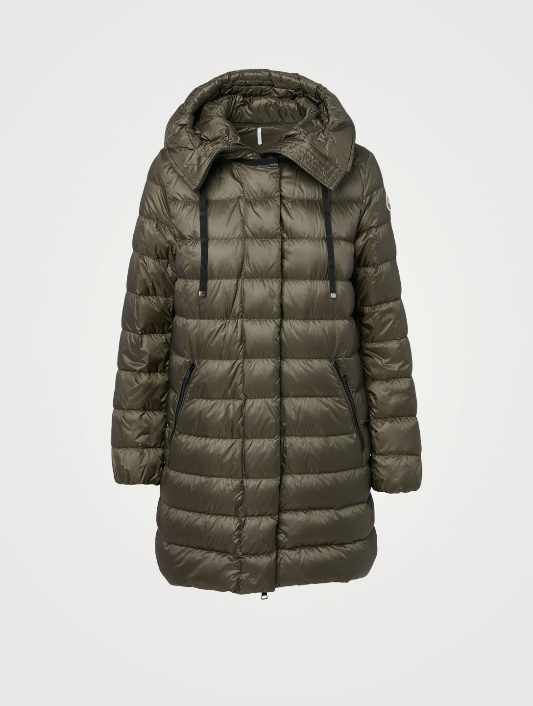 MONCLER Gnosia Down Puffer Coat Women's Green