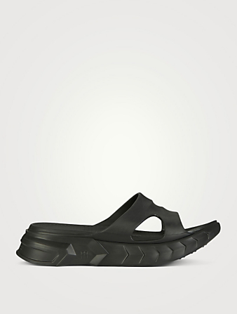 GIVENCHY Marshmallow Rubber Slide Sandals Women's Black