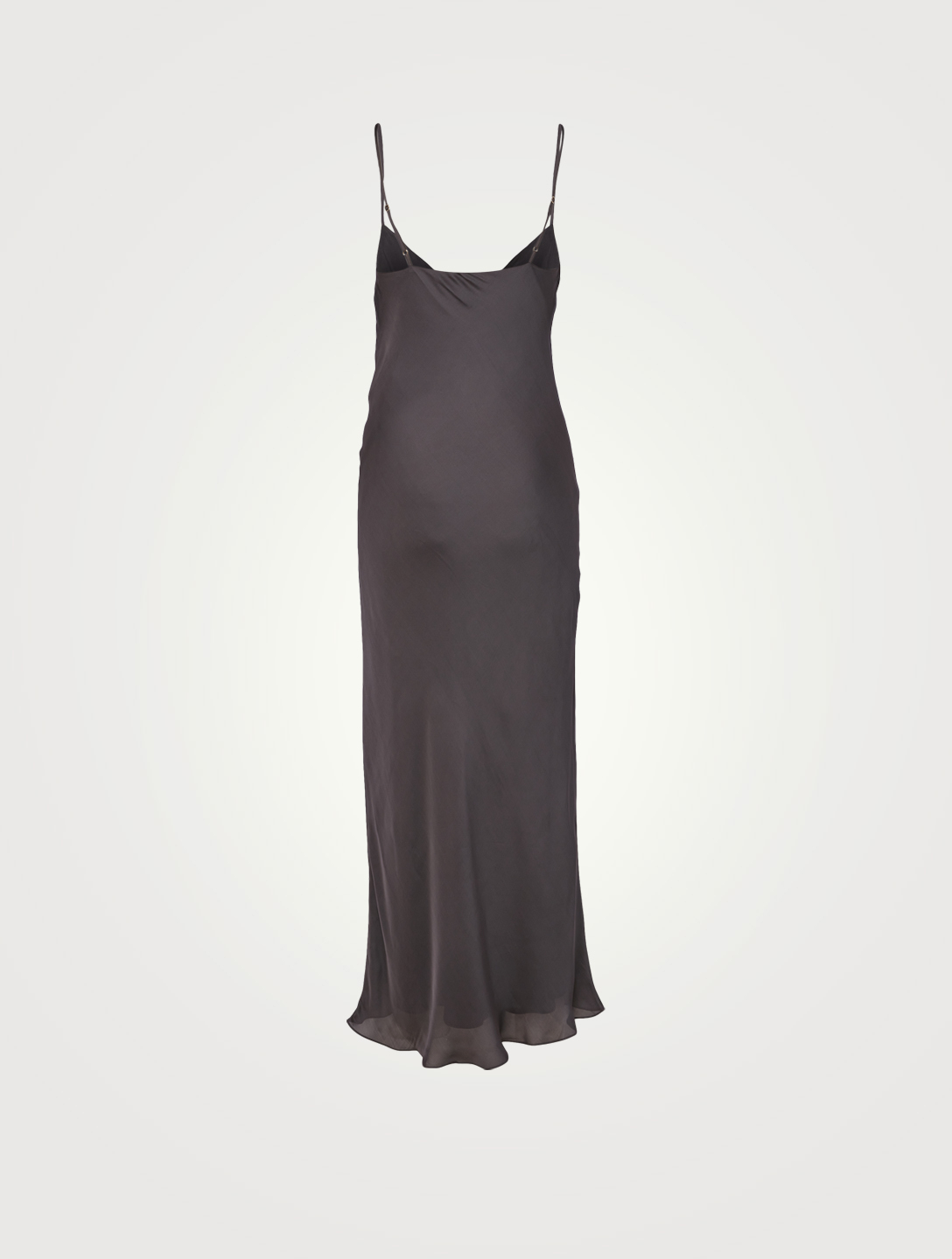 BIRGITTE HERSKIND Kira Silk-Blend Maxi Slip Dress Women's Black