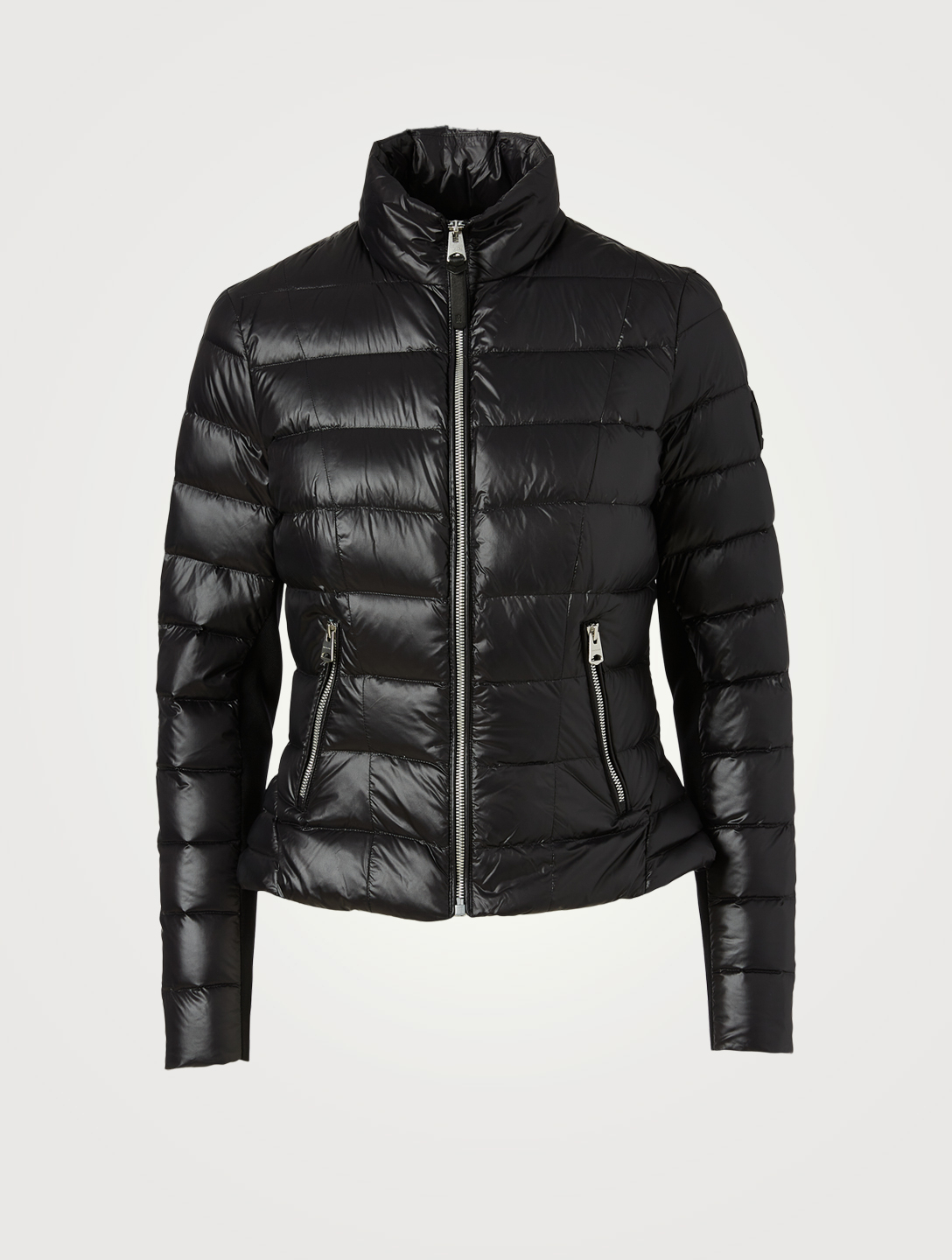 MACKAGE Reema Peplum Down Jacket Women's Black