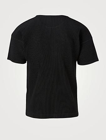 HOMME PLISSÉ ISSEY MIYAKE Basics Short-Sleeve T-Shirt Men's Black
