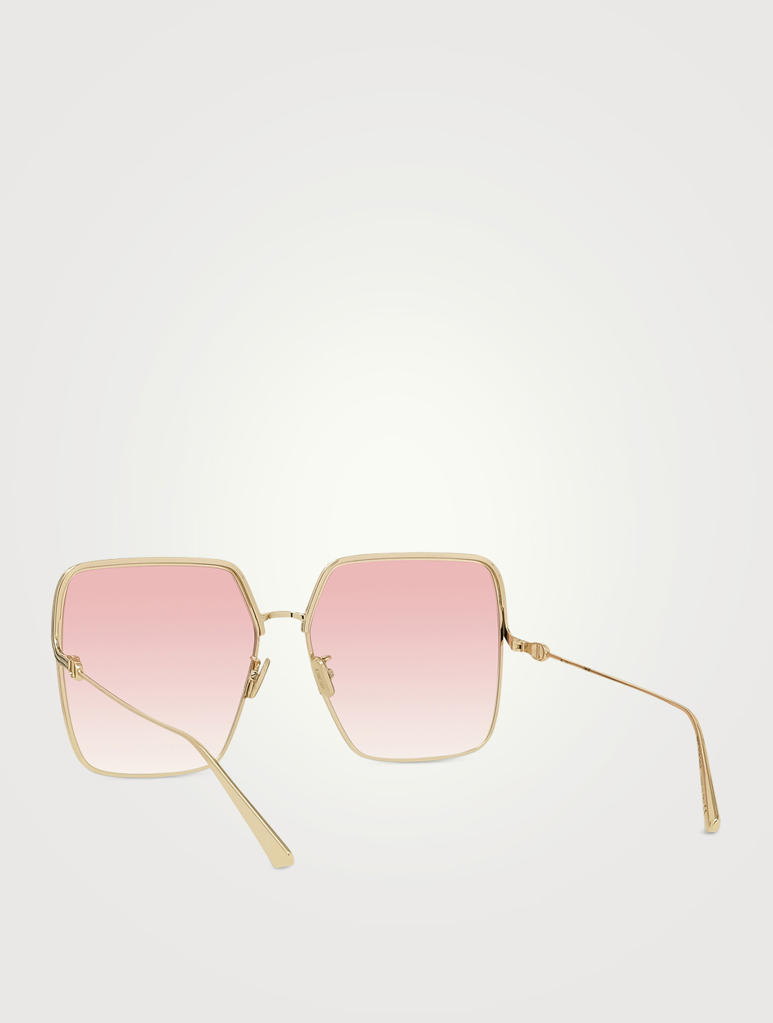 DIOR EverDior SU Square Sunglasses Women's Metallic