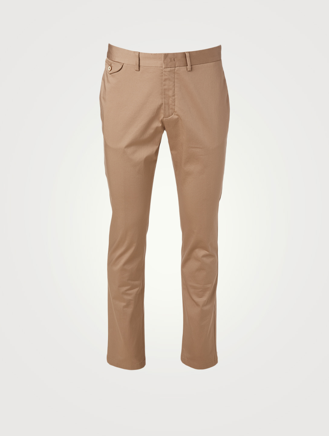 ORLEBAR BROWN Myers Compact Cotton Tailored Pants Men's Beige