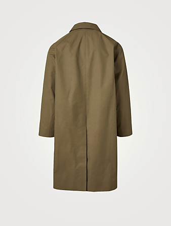 STUDIO NICHOLSON Romer Technical Cotton-Blend Coat Men's Beige