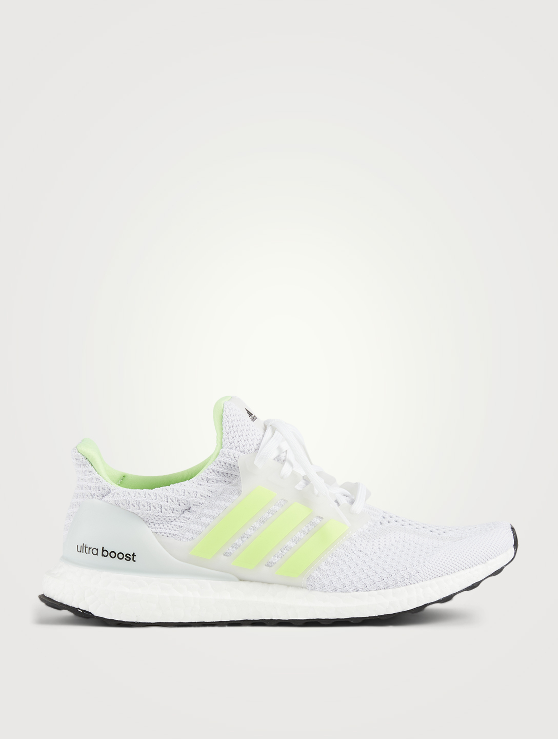 ADIDAS Ultraboost 5.0 DNA Glow Primeknit Running Shoes Men's White