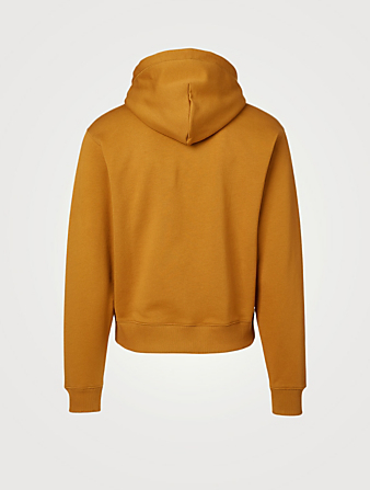 KENZO Cotton Hoodie With Logo Men's Beige