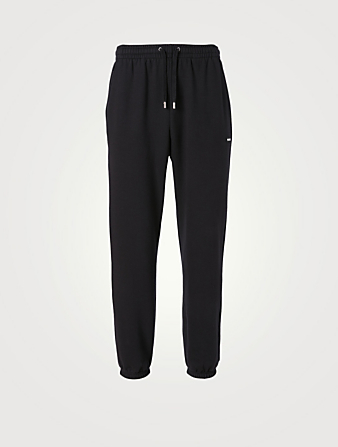 MACKAGE Presley Fleece Jersey Pants Men's Black