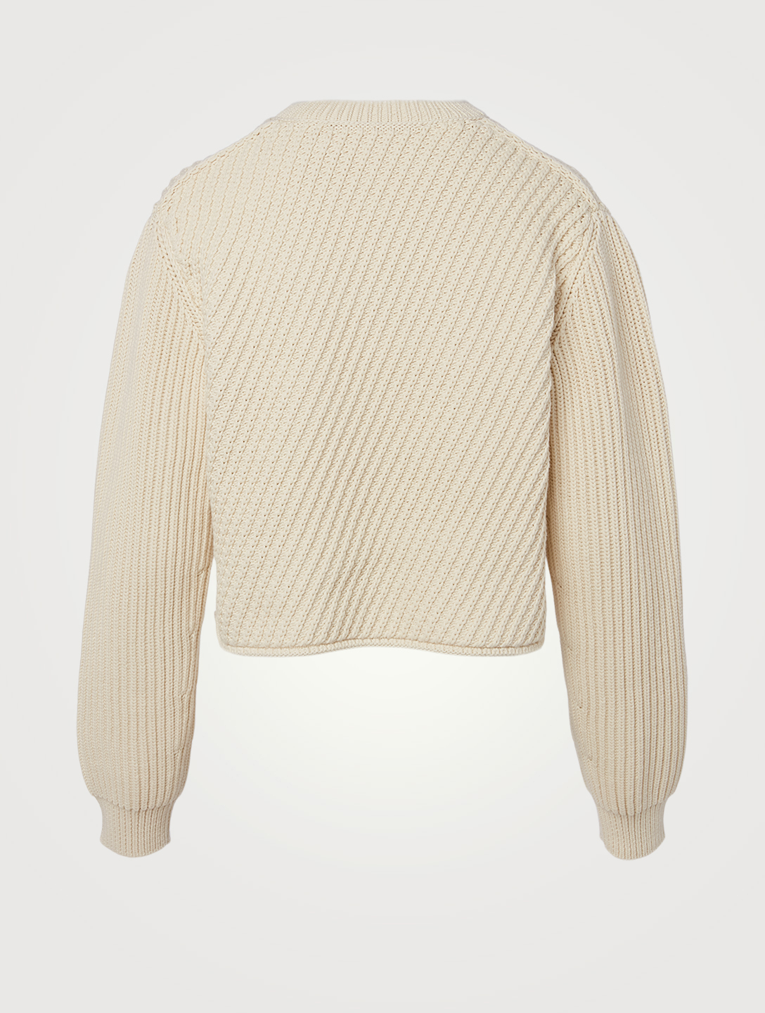 ACNE STUDIOS Chunky Cropped Sweater Women's Beige