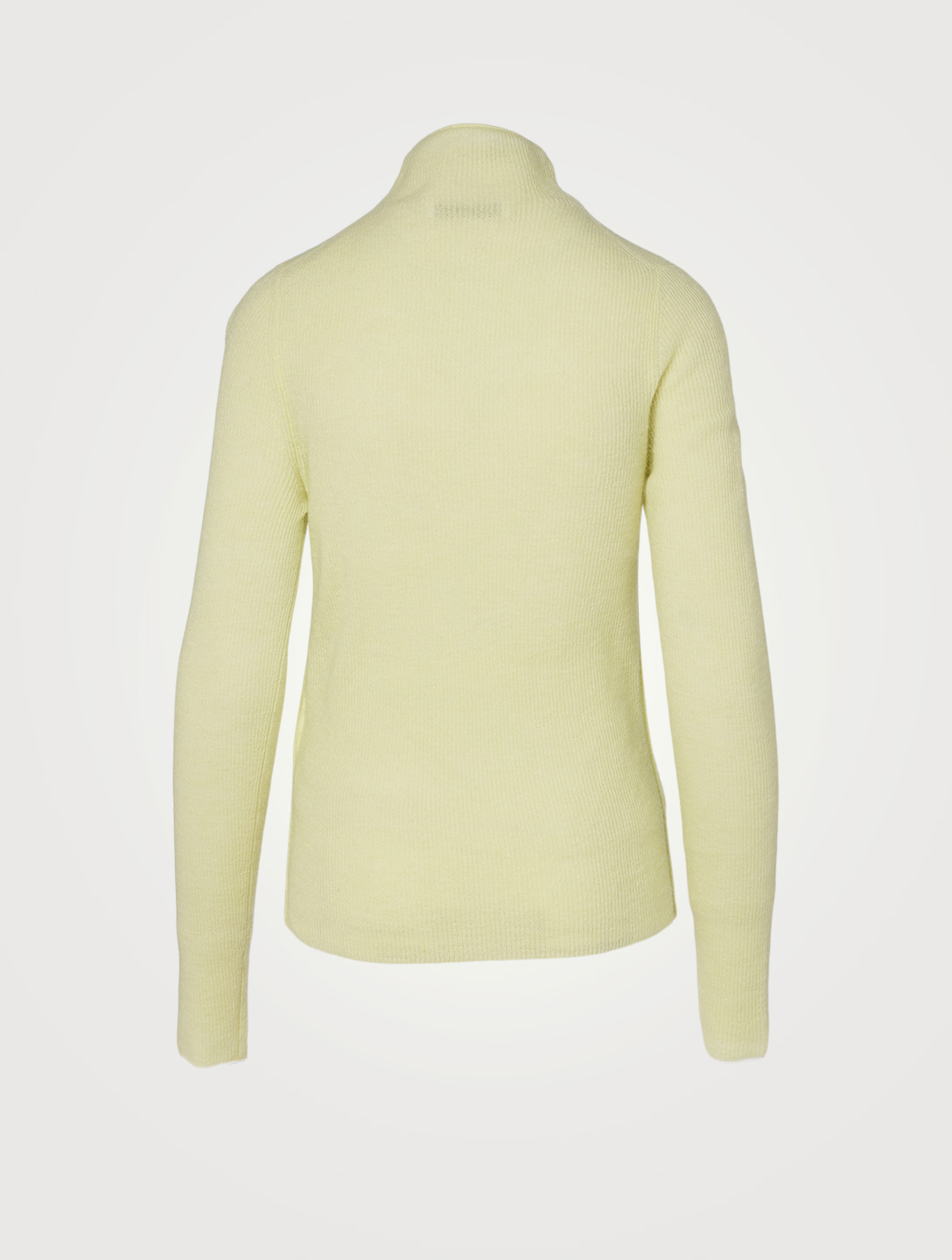 ACNE STUDIOS Alpaca And Wool Turtleneck Sweater Women's Yellow