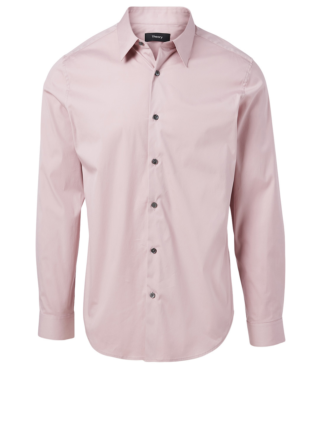 THEORY Good Cotton Tailored Shirt Men's Purple