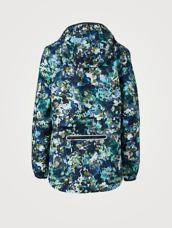 SWEATY BETTY Imperméable léger Pack It Up à imprimé floral Femmes Vert