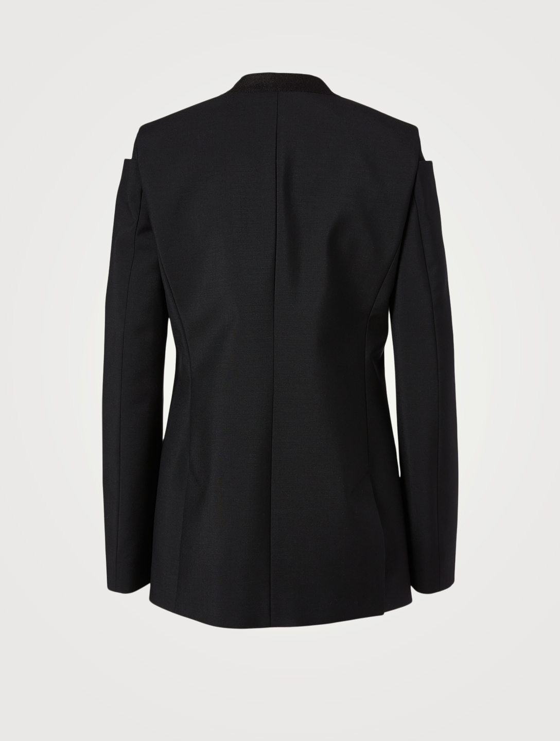 GIVENCHY Wool And Mohair Blazer Women's Black