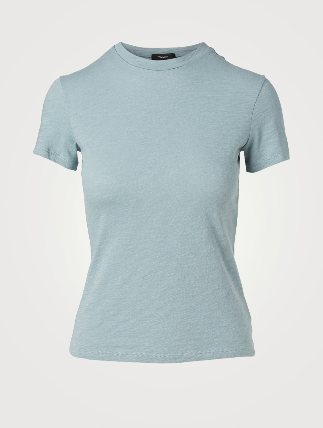 THEORY Tiny Organic Cotton T-Shirt Women's Blue