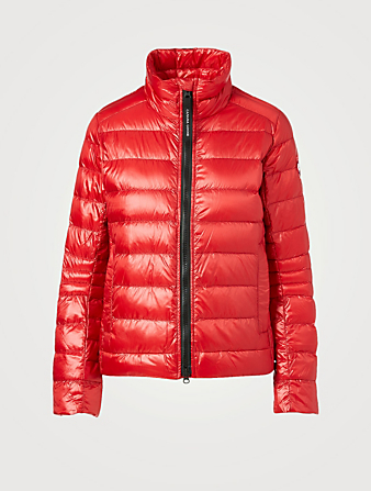CANADA GOOSE Cypress Quilted Down Jacket Women's Red