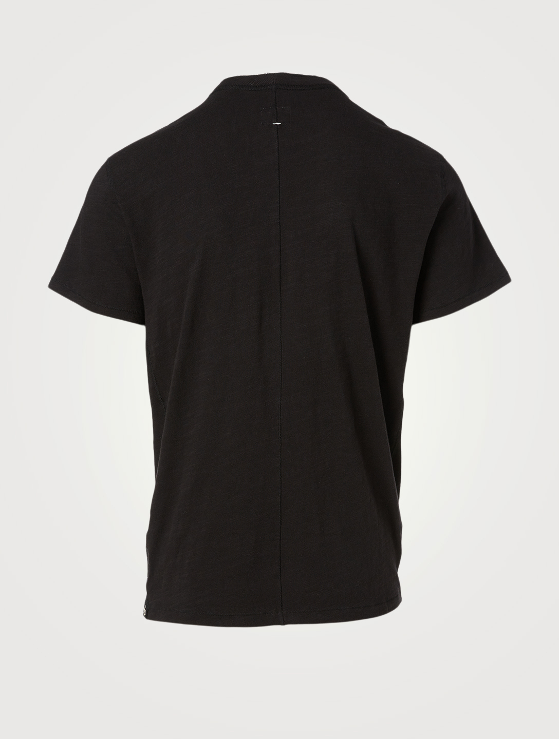 RAG & BONE Classic Cotton Henley T-Shirt Men's Black