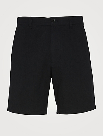 RAG & BONE Eaton Cotton Chino Shorts Men's Black
