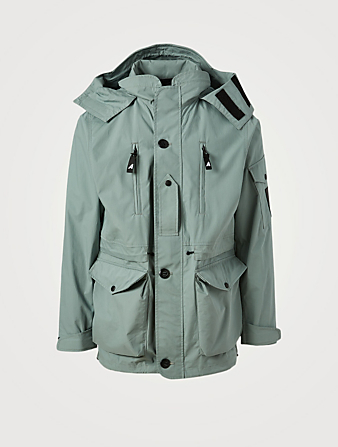 RAG & BONE Arkair Commando Smock Jacket Men's Grey