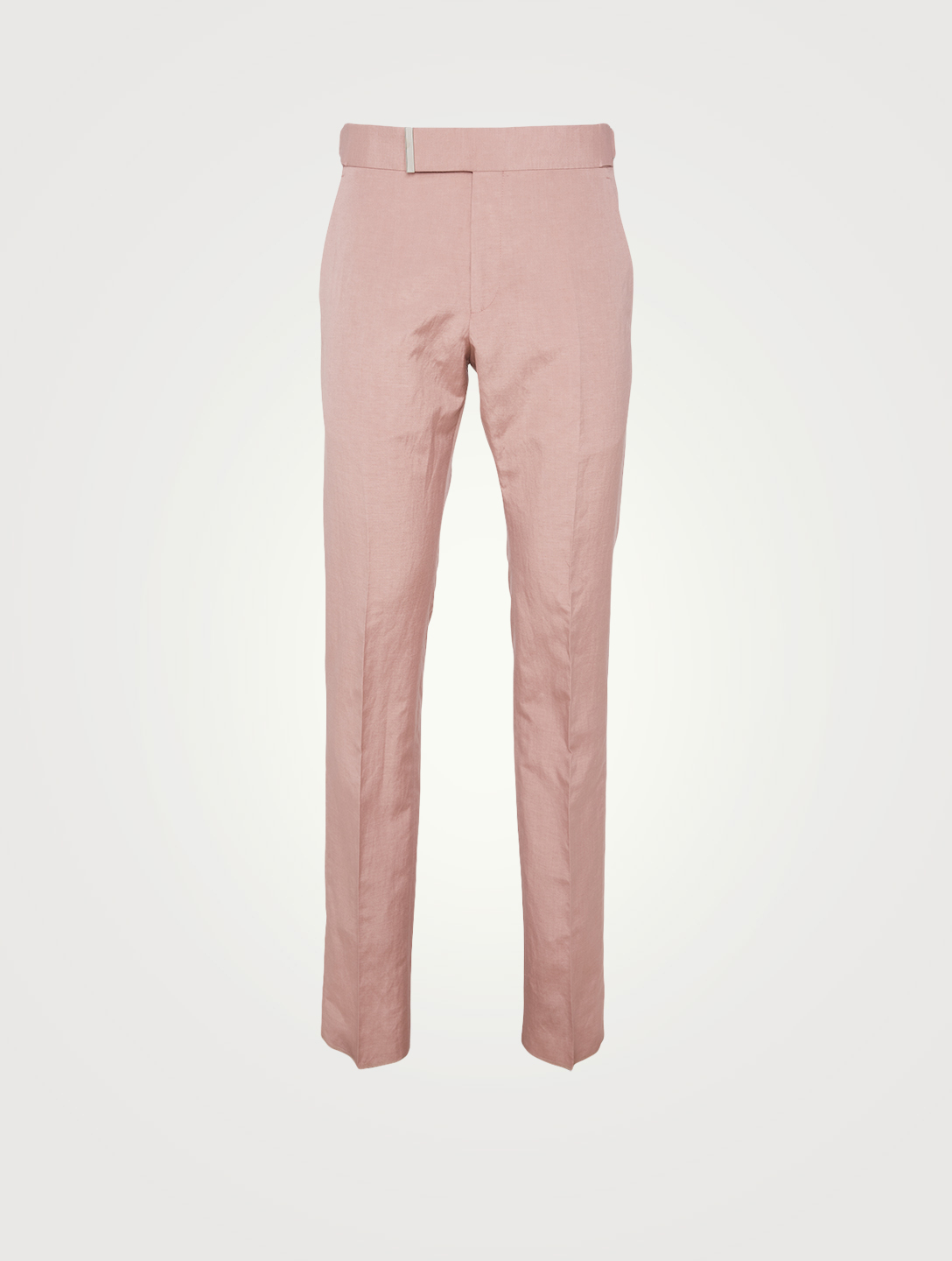 TOM FORD Atticus Silk And Linen Day Suit Pants Men's Pink