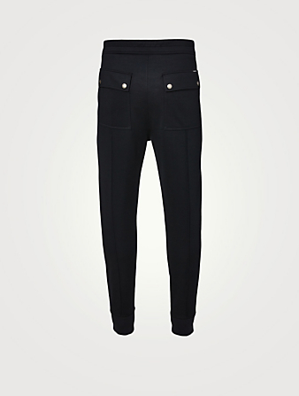 TOM FORD Jersey Technical Sweatpants Men's Black
