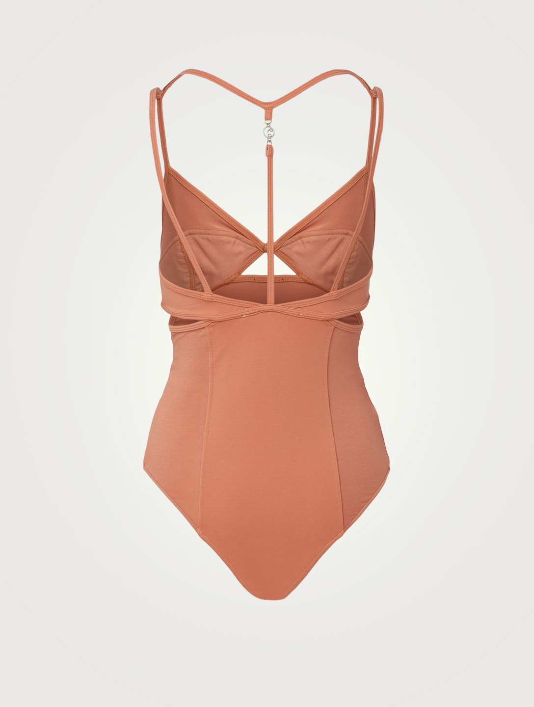 REMAIN BIRGER CHRISTENSEN Maillot en jersey extensible Cilla Femmes Marron