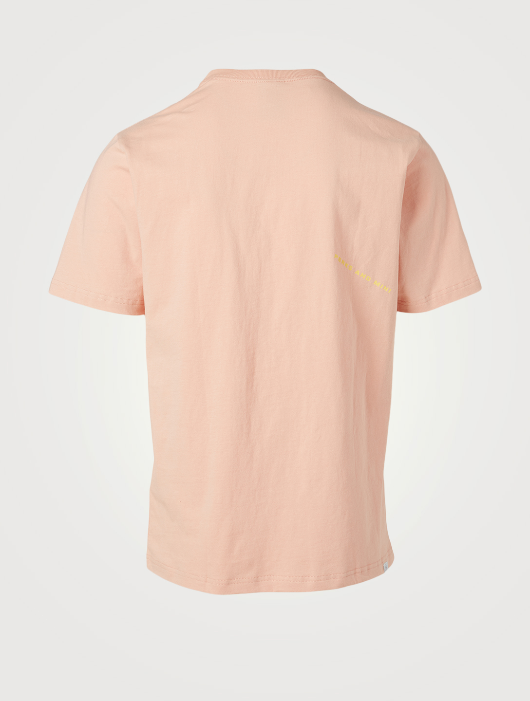 P.A.M. A Friendly Gesture Flower Cotton T-Shirt Men's Pink