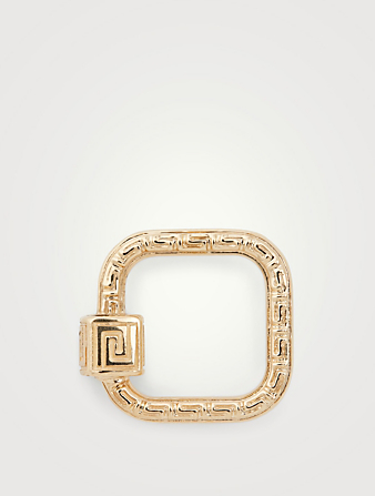 MARLA AARON Cadenas Meander en or jaune 14 ct Femmes Metallique