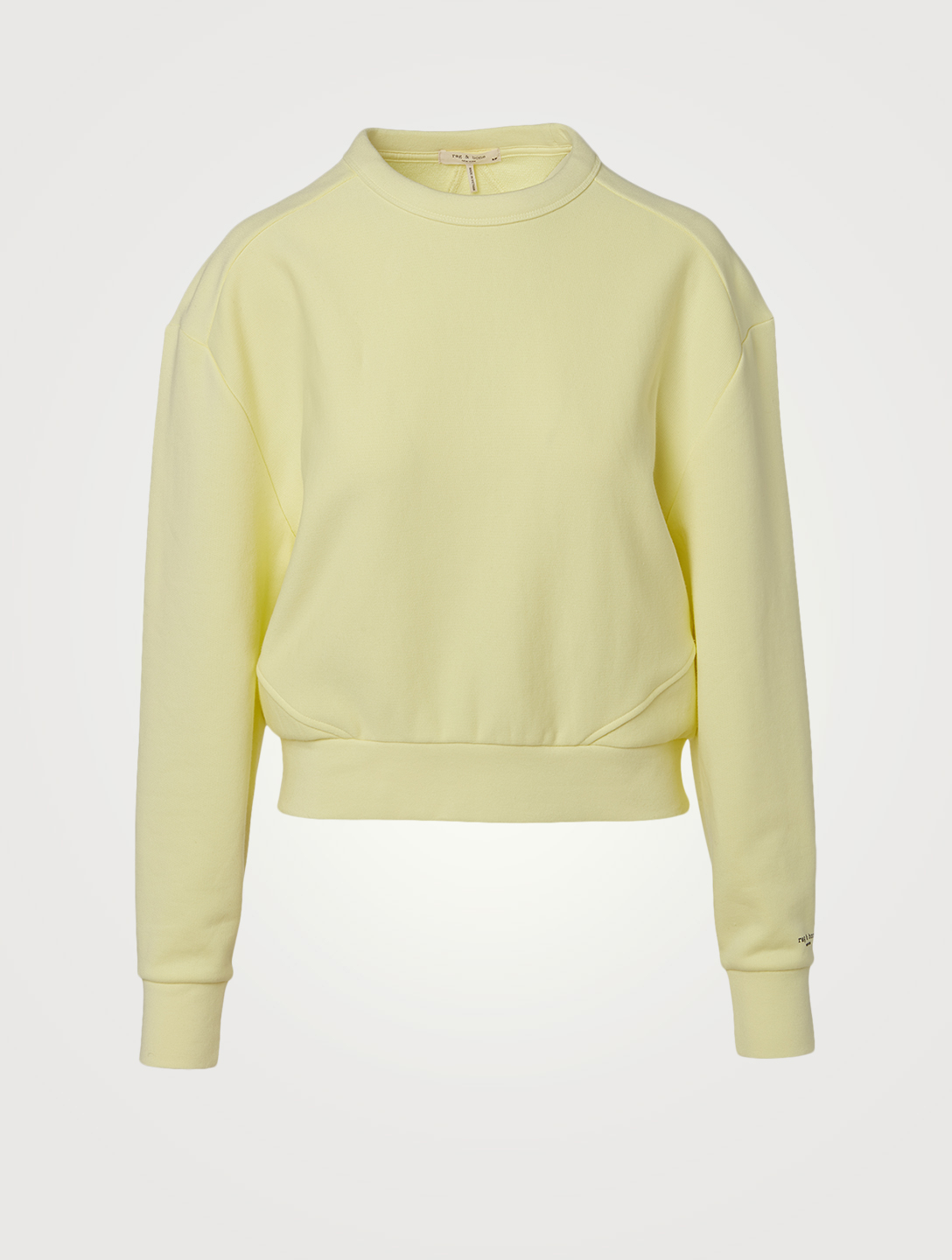 RAG & BONE City Terry Sweatshirt Women's Green