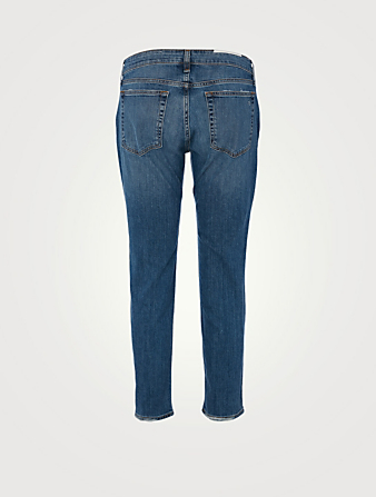 RAG & BONE Dre Low-Rise Boyfriend Jeans Women's Blue