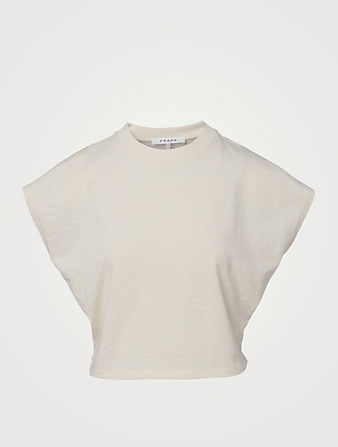 FRAME Off Duty T-Shirt Women's White