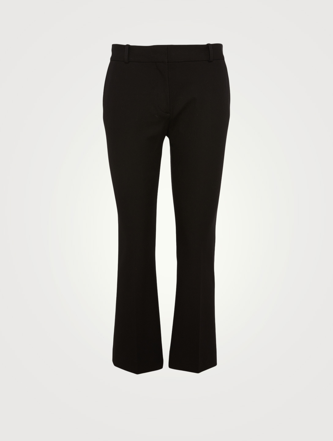 FRAME Le Crop Mini Bootcut Pants Women's Black
